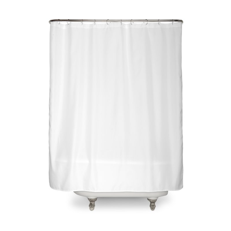 Glyph Drip white on color Home Shower Curtain by Boy Vs Dragon