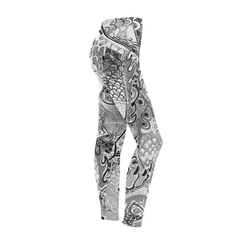 Dragon Yoga Women's Bottoms by Boy Vs Dragon