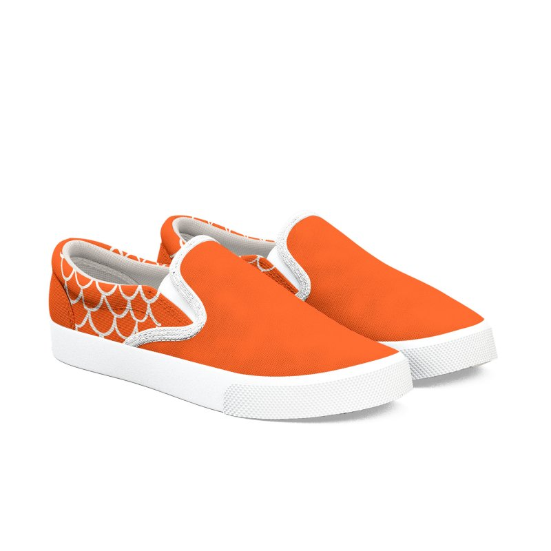 Strap 1s, orange Women's Shoes by Boy Vs Dragon