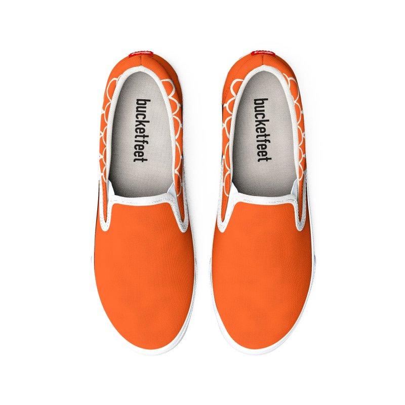 Strap 1s, orange Women's Shoes by Boy Vs Dragon