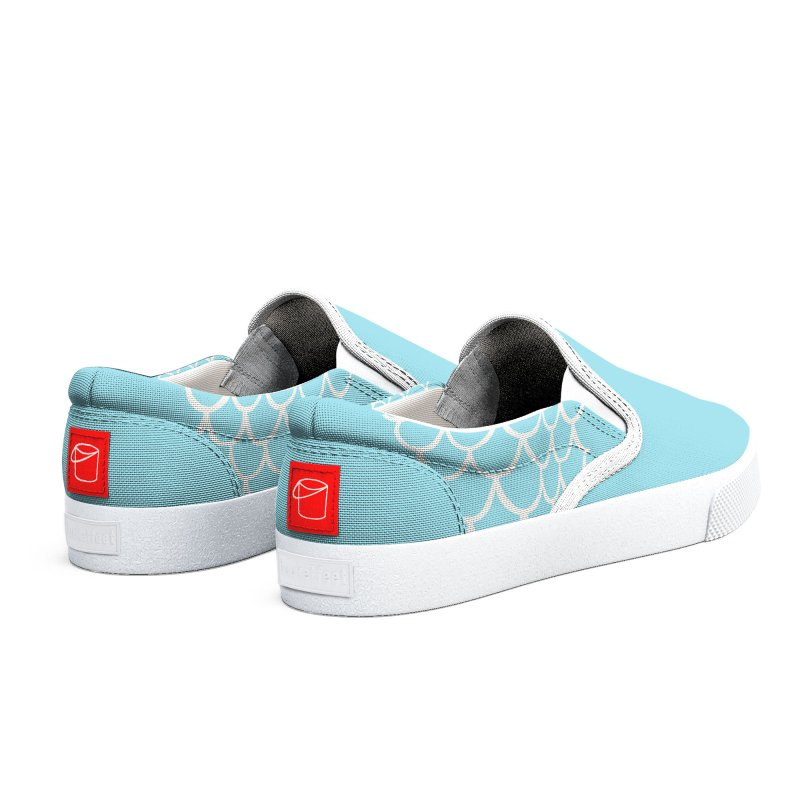 Strap 1s, blue Women's Shoes by Boy Vs Dragon