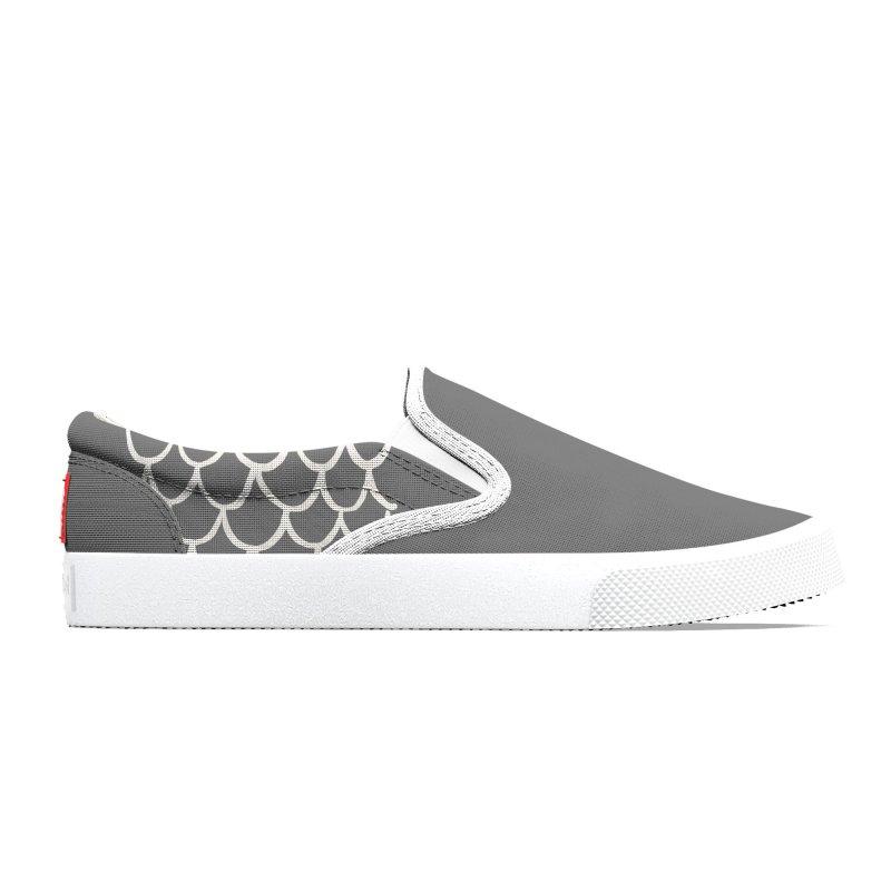 Strap 1s, grey Women's Shoes by Boy Vs Dragon