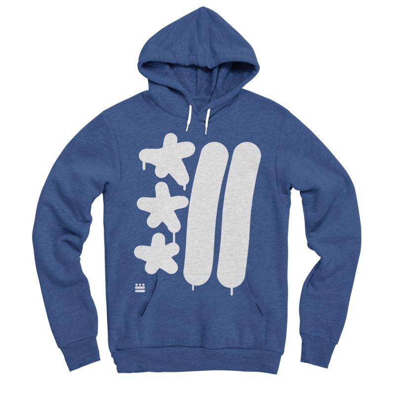 DC White Sweatshirts and Hoodies Women's Sponge Fleece Pullover Hoody by Boy Vs Dragon