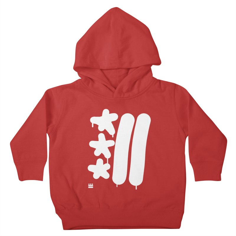 DC White Sweatshirts and Hoodies Kids Toddler Pullover Hoody by Boy Vs Dragon