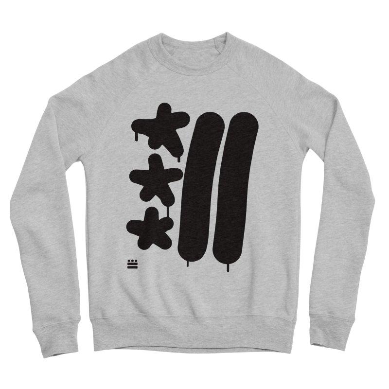 DC Black Sweatshirts and Hoodies Men's Sponge Fleece Sweatshirt by Boy Vs Dragon
