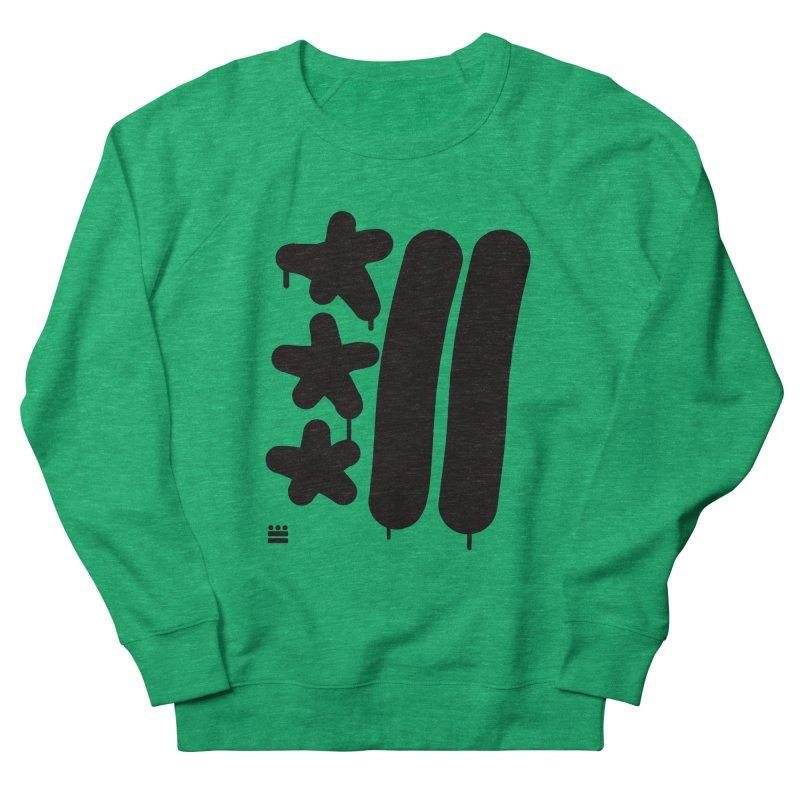 DC Black Sweatshirts and Hoodies Women's French Terry Sweatshirt by Boy Vs Dragon