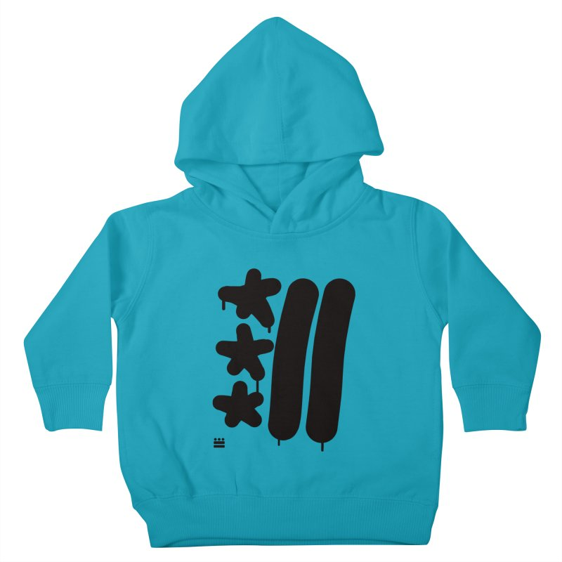 DC Black Sweatshirts and Hoodies Kids Toddler Pullover Hoody by Boy Vs Dragon