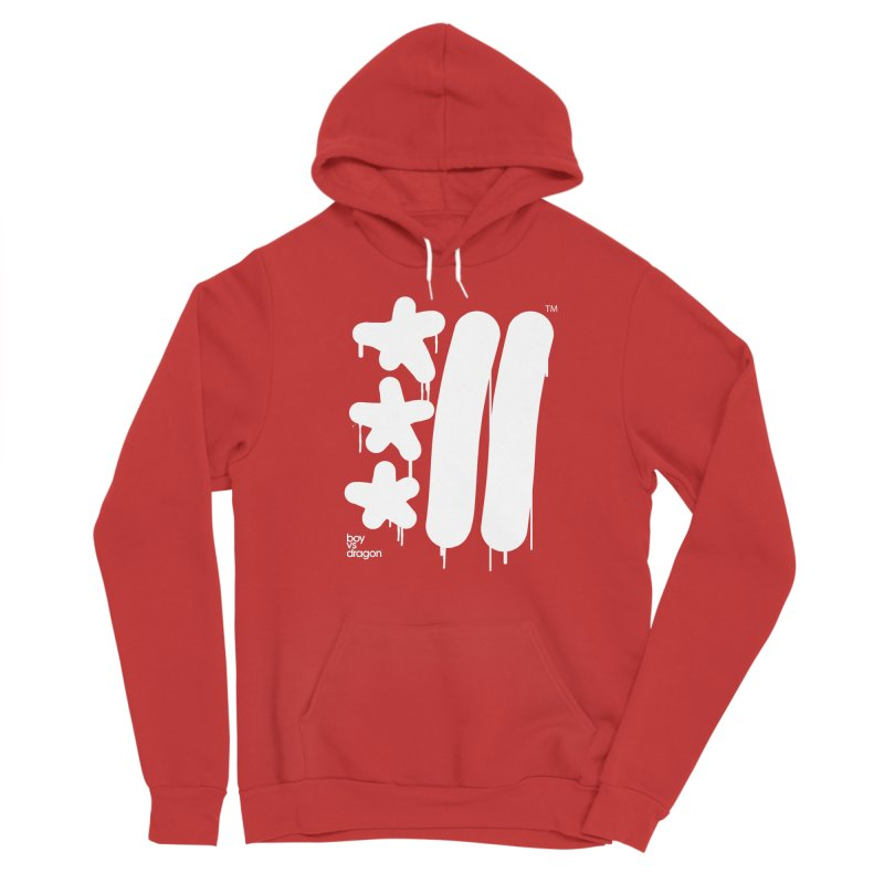 DC Flag Vertical Men's Pullover Hoody by Boy Vs Dragon