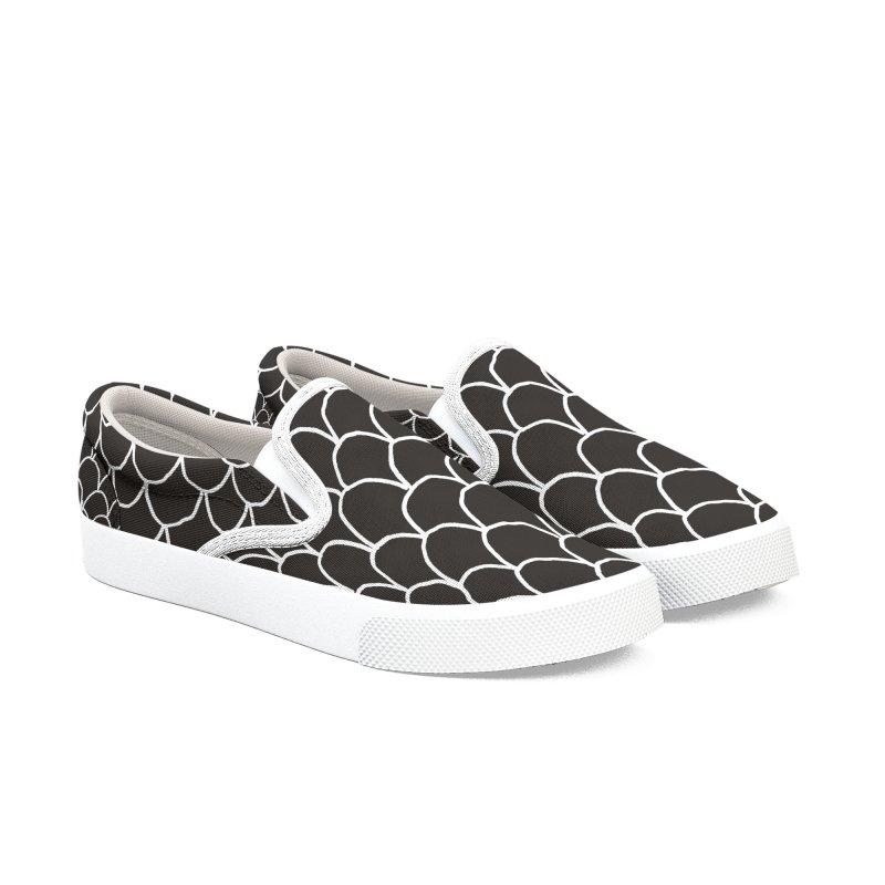 BVD Ones Men's Slip-On Shoes by Boy Vs Dragon