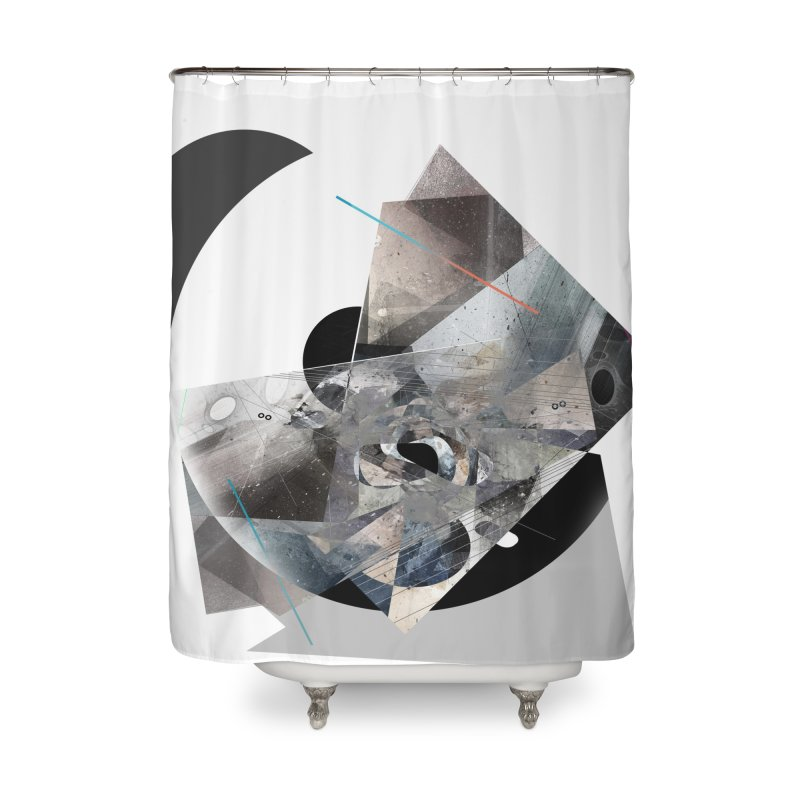 MergeVisible 01 Home Shower Curtain by Boy Vs Dragon