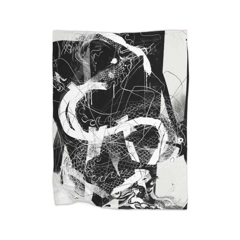 Drgn 001 Home Blanket by Boy Vs Dragon