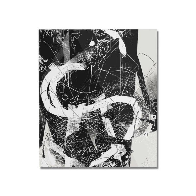 Drgn 001 Home Mounted Acrylic Print by Boy Vs Dragon