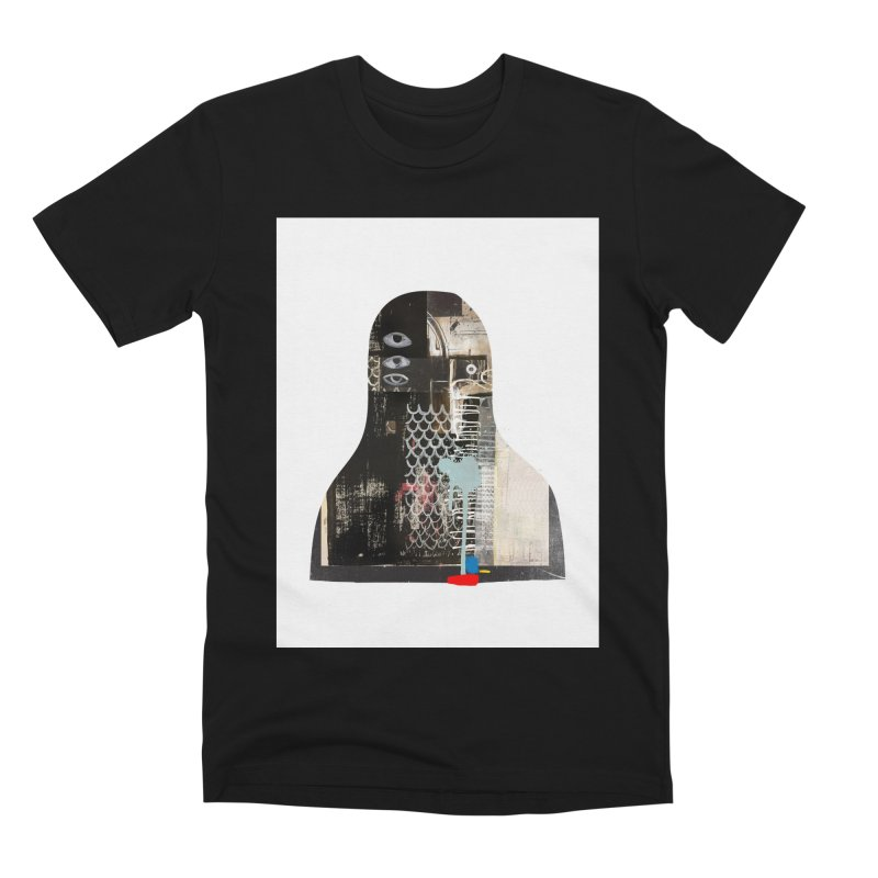 cyborg Men's Premium T-Shirt by Boy Vs Dragon