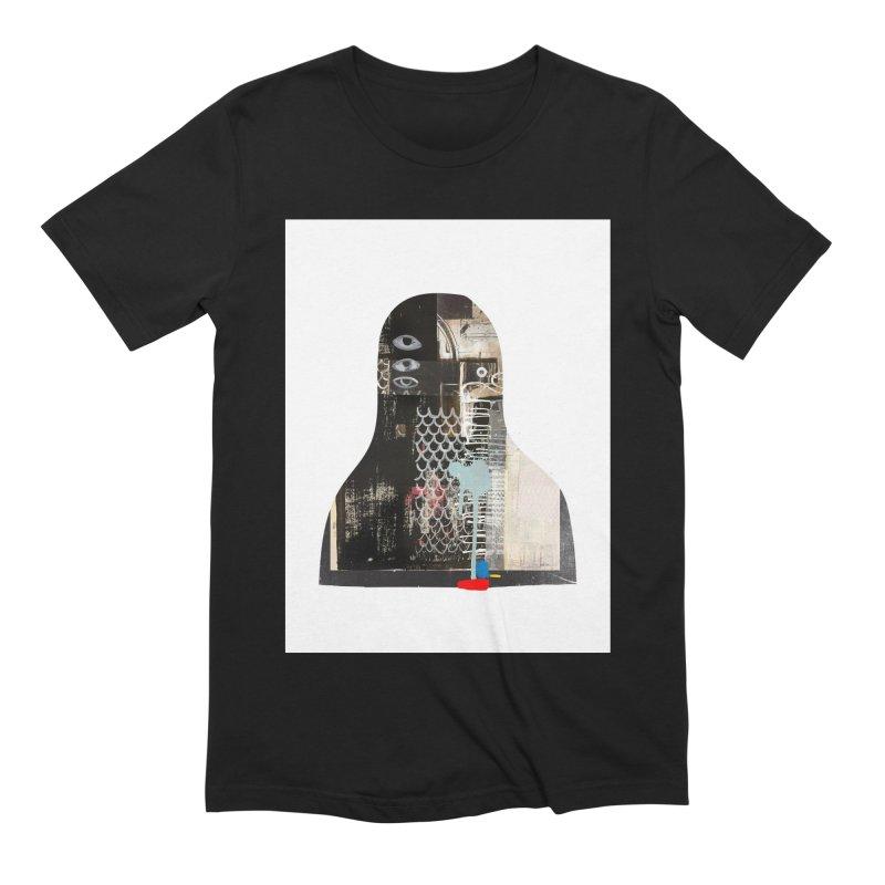 cyborg Men's Extra Soft T-Shirt by Boy Vs Dragon