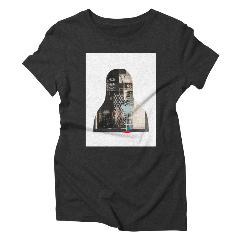 cyborg Women's Triblend T-Shirt by Boy Vs Dragon