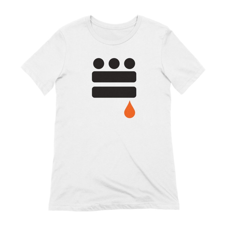 DC GLYPH ONES Women's Extra Soft T-Shirt by Boy Vs Dragon