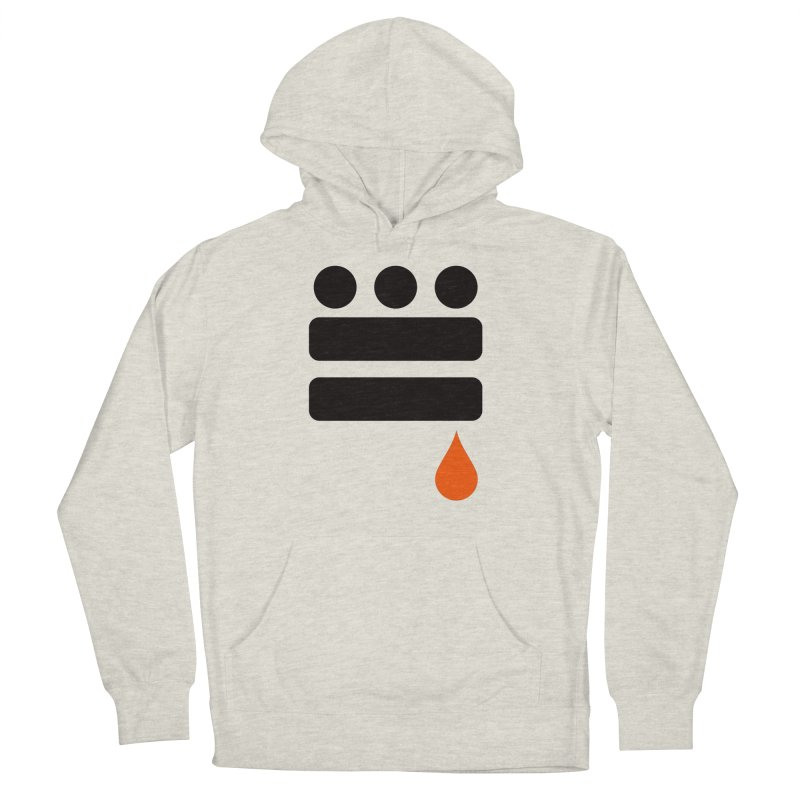 DC GLYPH ONES Men's French Terry Pullover Hoody by Boy Vs Dragon