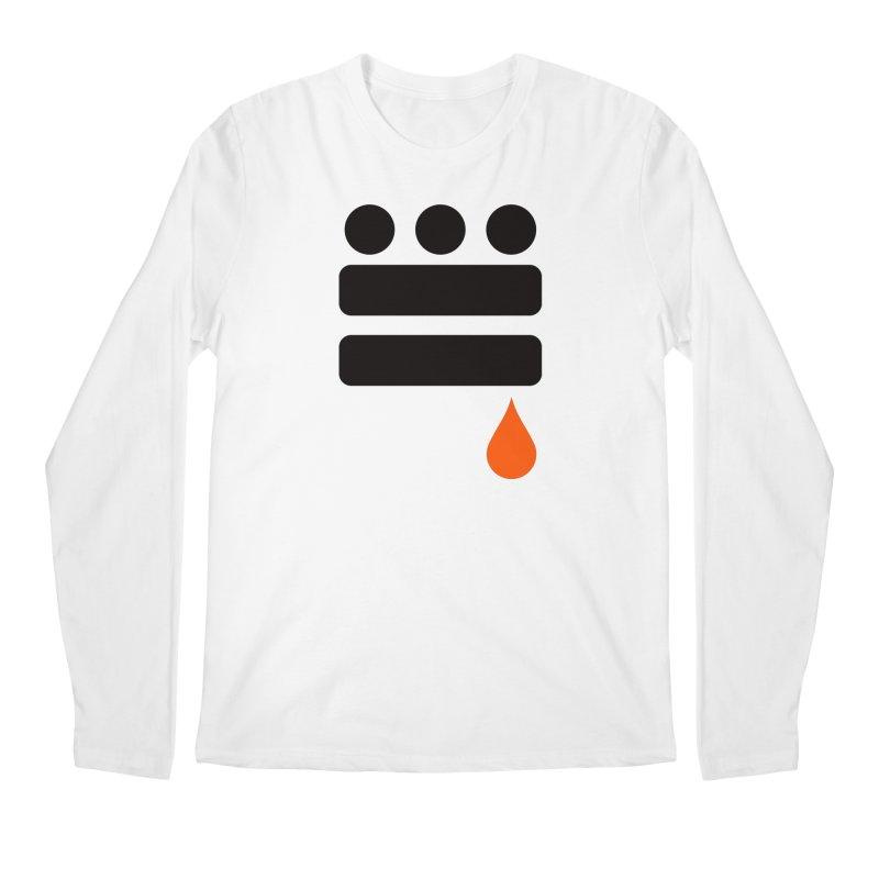 DC GLYPH ONES Men's Regular Longsleeve T-Shirt by Boy Vs Dragon