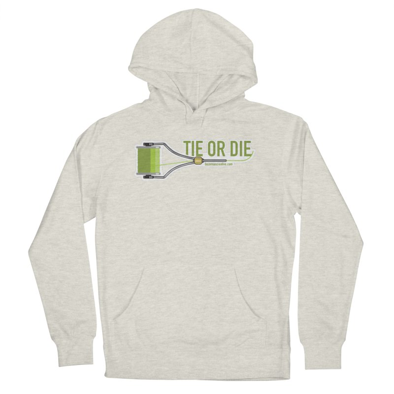Tie or Die Men's French Terry Pullover Hoody by Bozeman Creatives's Artist Shop