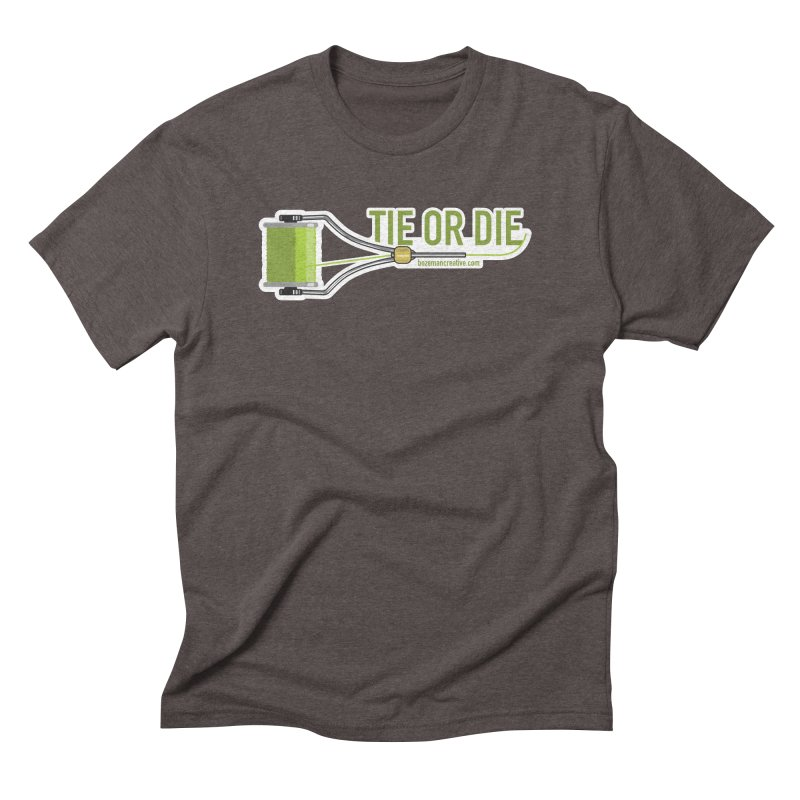 Tie or Die Men's Triblend T-Shirt by Bozeman Creatives's Artist Shop