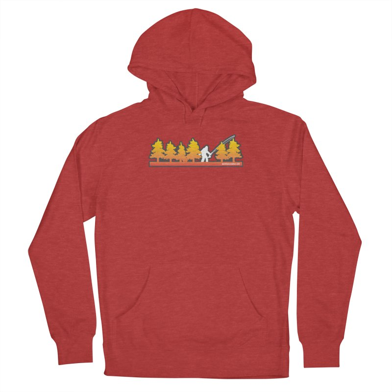 Fly Squatchin Men's Pullover Hoody by Bozeman Creatives's Artist Shop