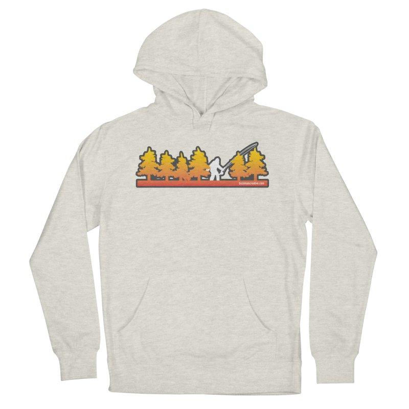 Fly Squatchin Women's French Terry Pullover Hoody by Bozeman Creatives's Artist Shop