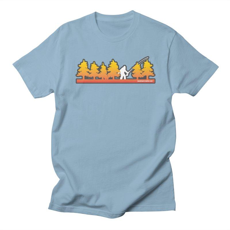Fly Squatchin Women's Regular Unisex T-Shirt by Bozeman Creatives's Artist Shop