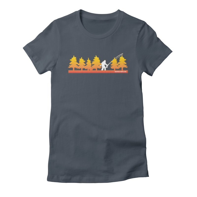 Fly Squatchin Women's T-Shirt by Bozeman Creatives's Artist Shop