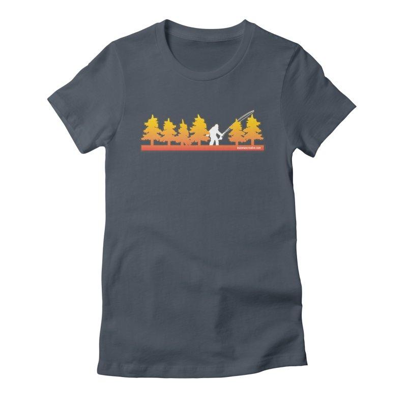 Fly Squatchin Women's T-Shirt by Bozeman Creatives's Artist Shop