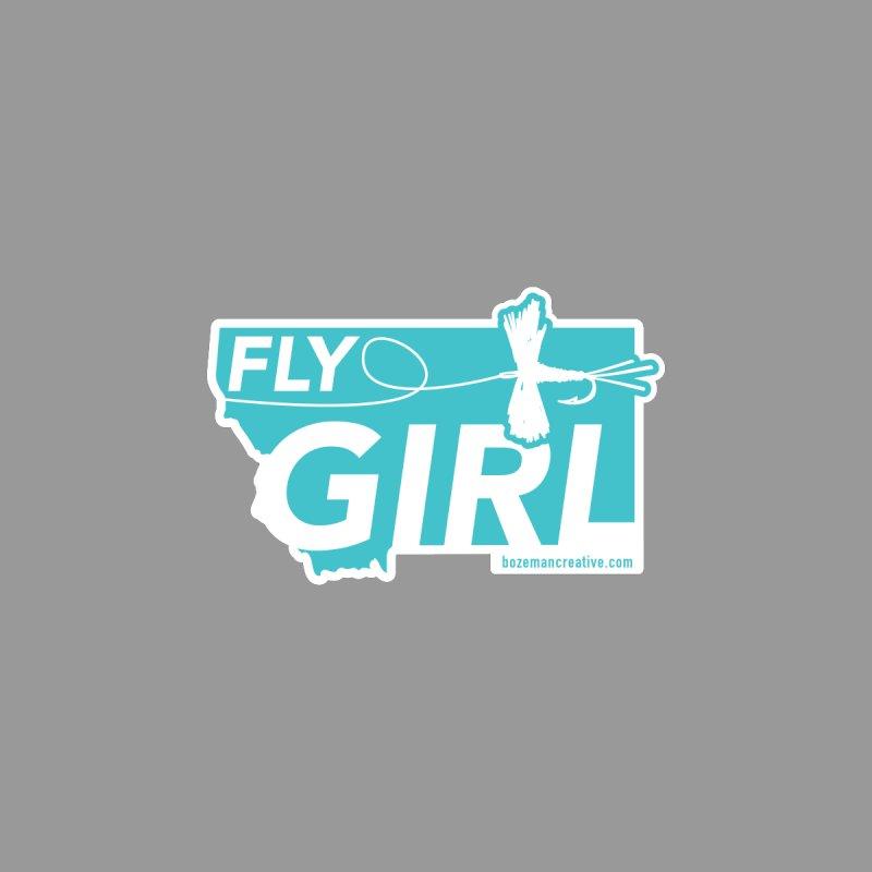 Montana Fly Girl by Bozeman Creatives's Artist Shop