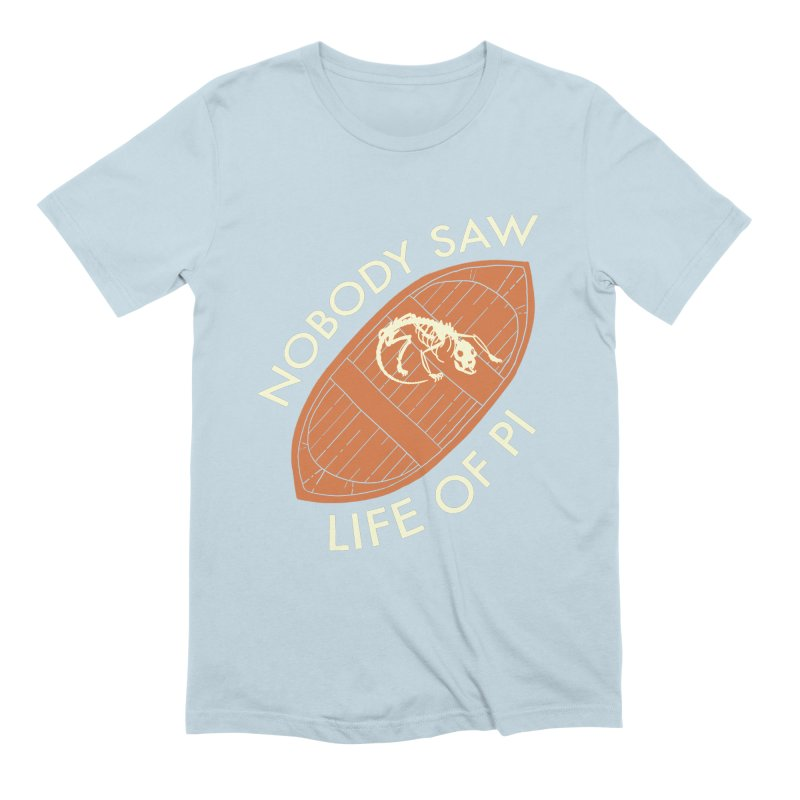 Nobody Saw Life Of Pi Men's Extra Soft T-Shirt by [BRACKET!] T-Shirt Emporium