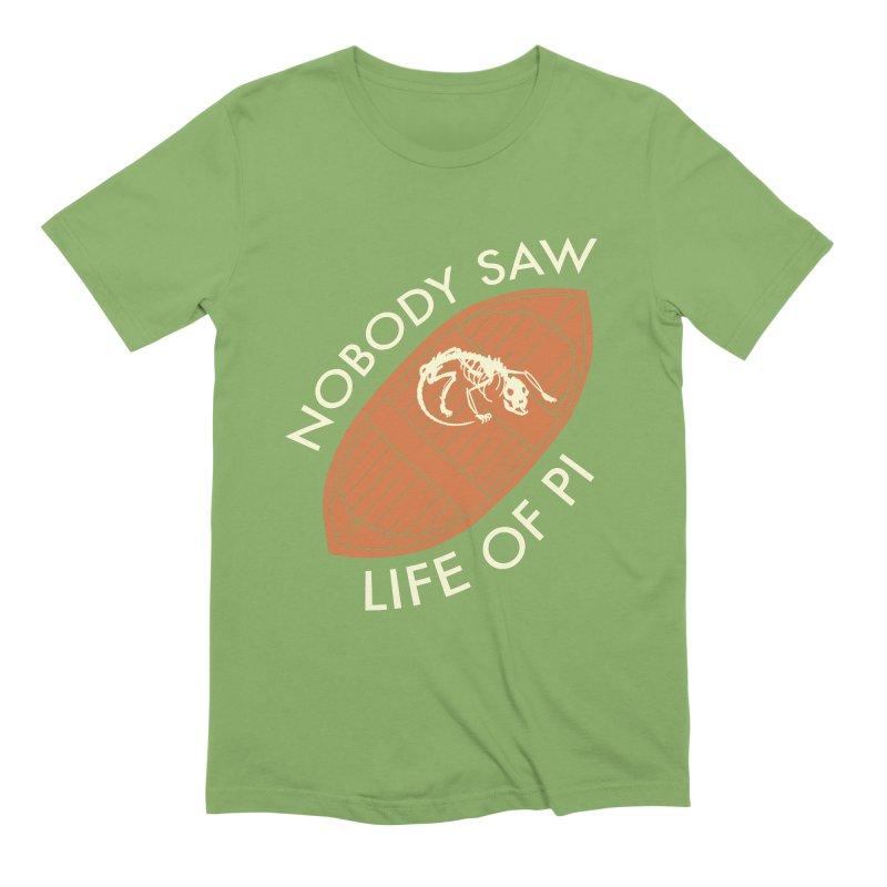 Nobody Saw Life Of Pi Men's Extra Soft T-Shirt by [BRACKET!] T-Shirt Emporium
