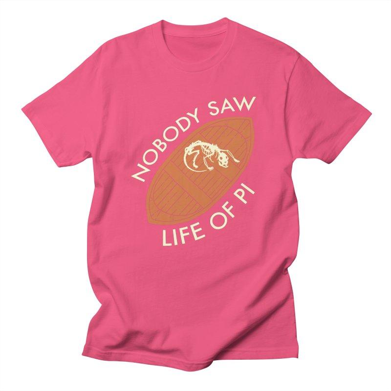 Nobody Saw Life Of Pi Women's Regular Unisex T-Shirt by [BRACKET!] T-Shirt Emporium