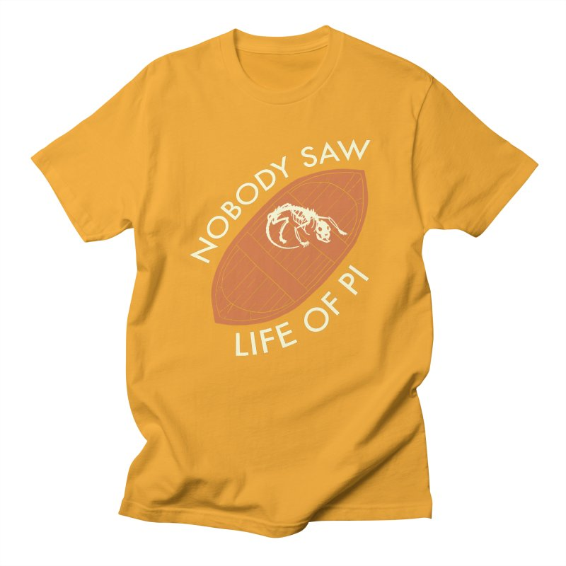 Nobody Saw Life Of Pi Men's Regular T-Shirt by [BRACKET!] T-Shirt Emporium