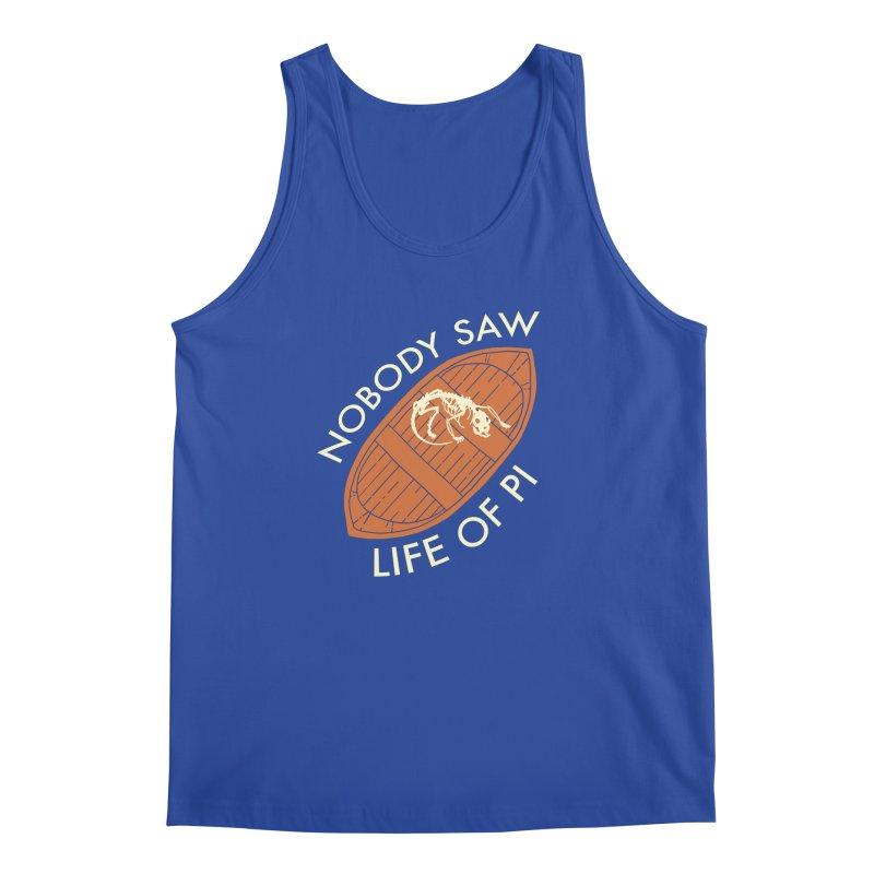 Nobody Saw Life Of Pi Men's Regular Tank by [BRACKET!] T-Shirt Emporium