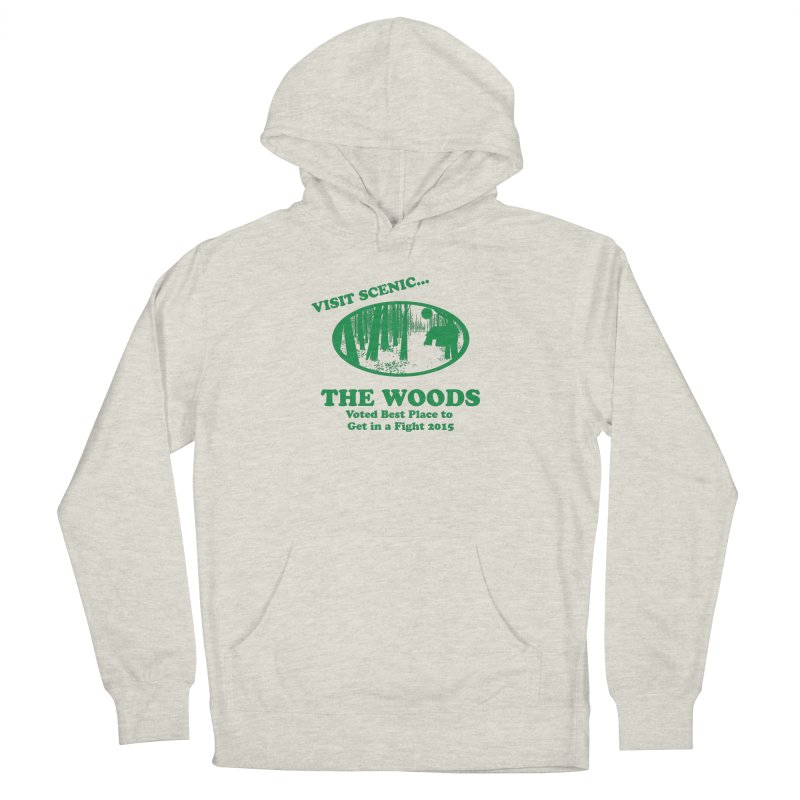 Visit The Woods! Men's French Terry Pullover Hoody by [BRACKET!] T-Shirt Emporium