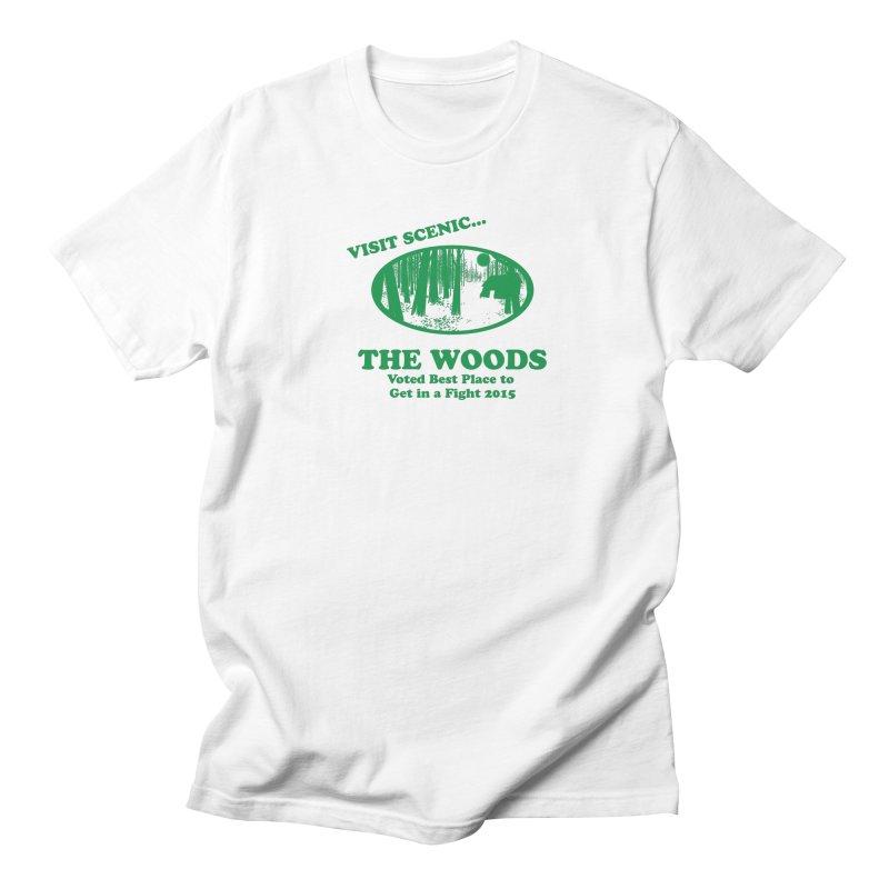 Visit The Woods! Men's Regular T-Shirt by [BRACKET!] T-Shirt Emporium