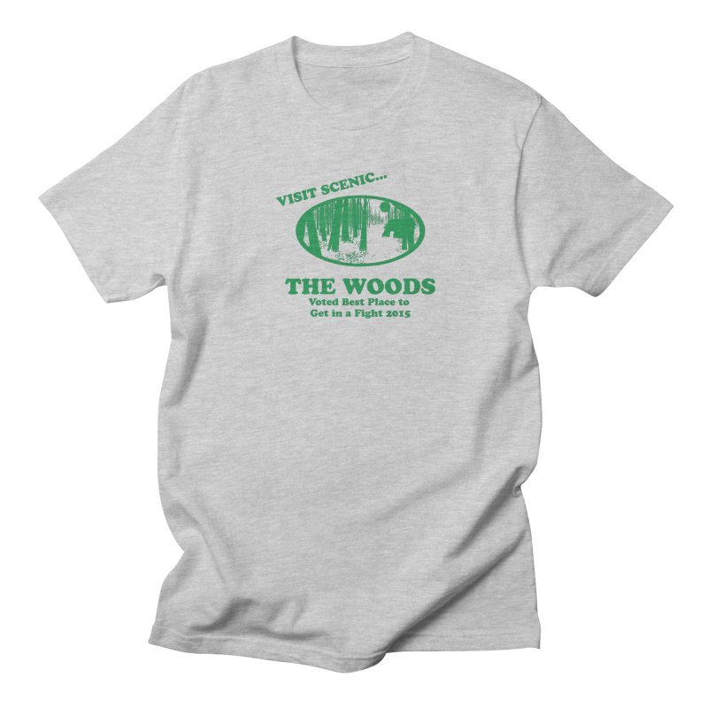 Visit The Woods! Men's Regular T-Shirt by [BRACKET!] T-Shirt Emporium