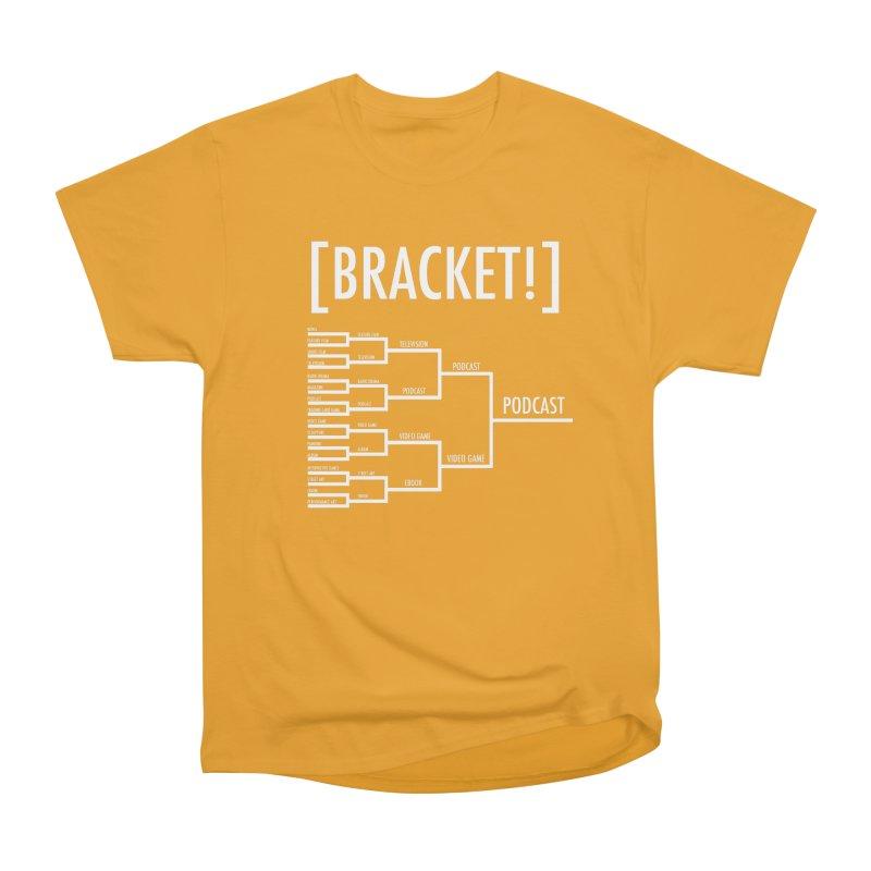 [BRACKET!] Men's Heavyweight T-Shirt by [BRACKET!] T-Shirt Emporium