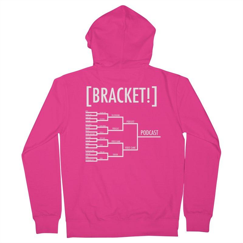 [BRACKET!] Men's French Terry Zip-Up Hoody by [BRACKET!] T-Shirt Emporium