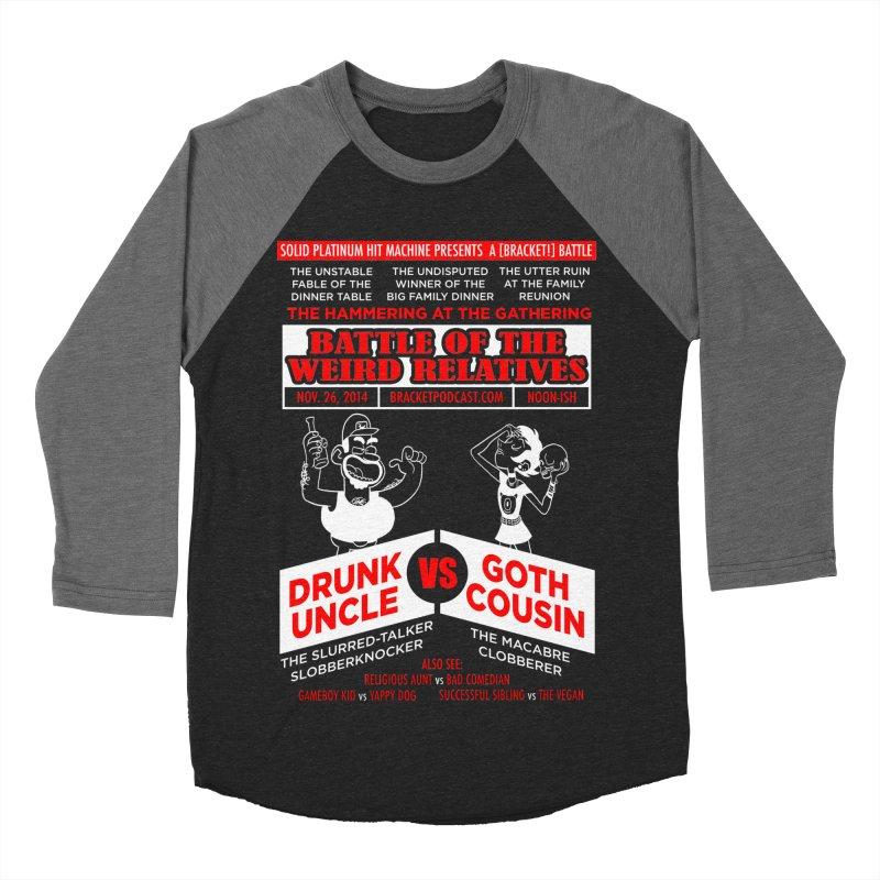 Battle of the Weird Relatives Women's Baseball Triblend Longsleeve T-Shirt by [BRACKET!] T-Shirt Emporium