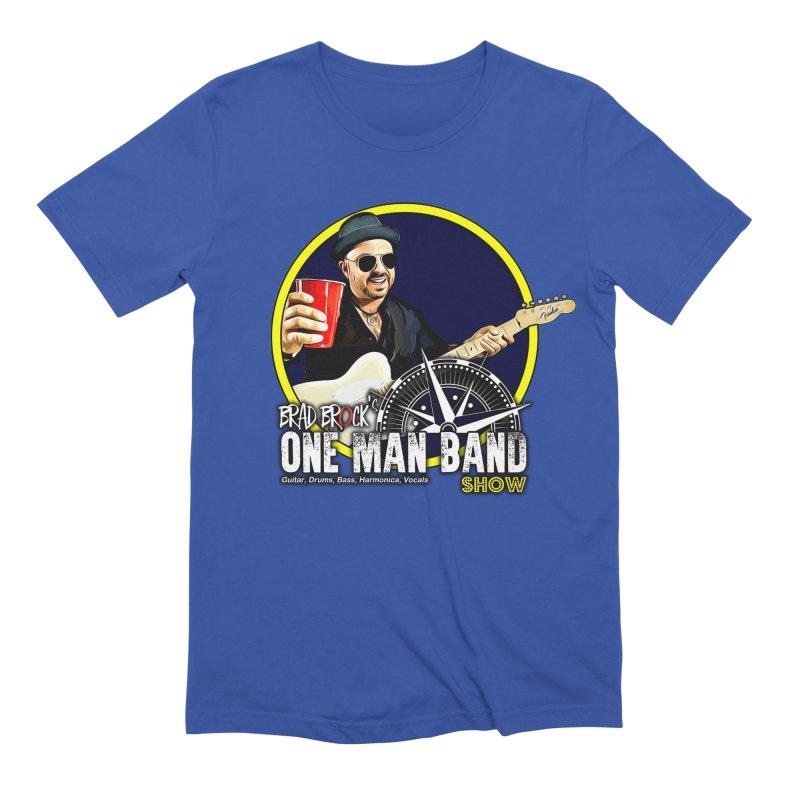 One Man Band Men's T-Shirt by Brad Brock Official Merch