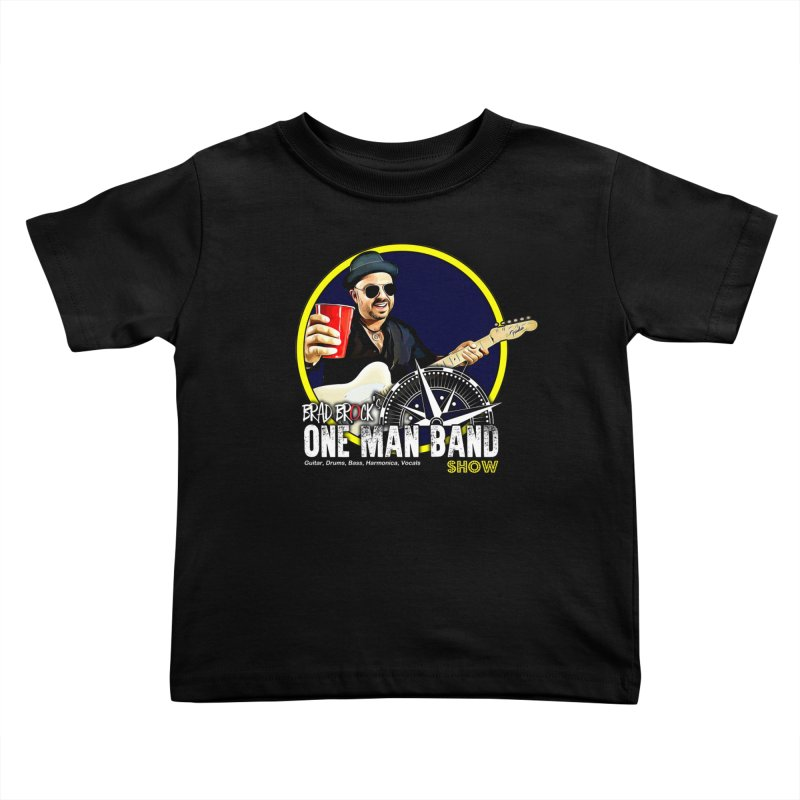 One Man Band Kids Toddler T-Shirt by Brad Brock Official Merch
