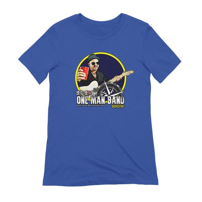 One Man Band Women's T-Shirt by Brad Brock Official Merch