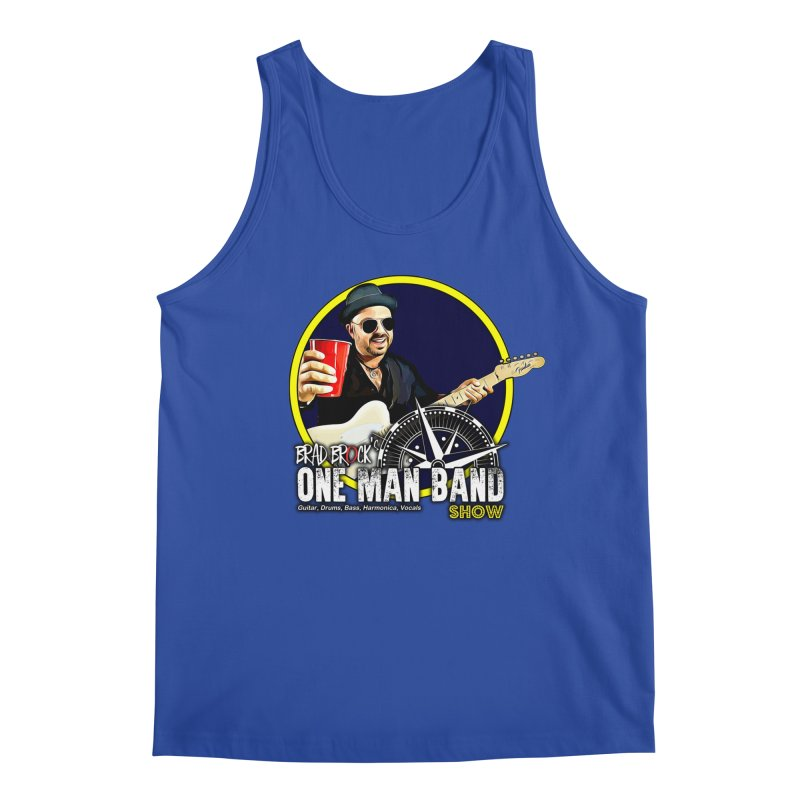 One Man Band Men's Tank by Brad Brock Official Merch