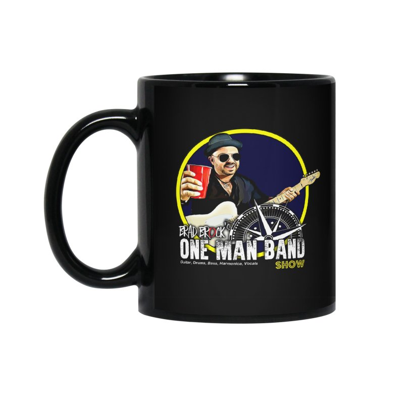 One Man Band Accessories Standard Mug by Brad Brock Official Merch