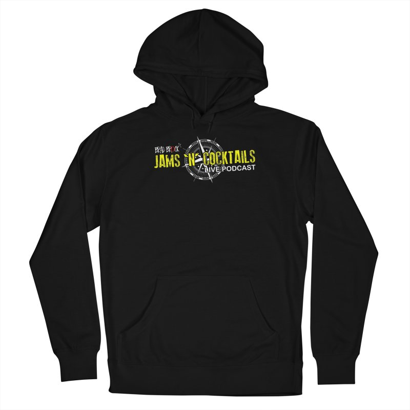Jams N Cocktails Women's French Terry Pullover Hoody by Brad Brock Official Merch