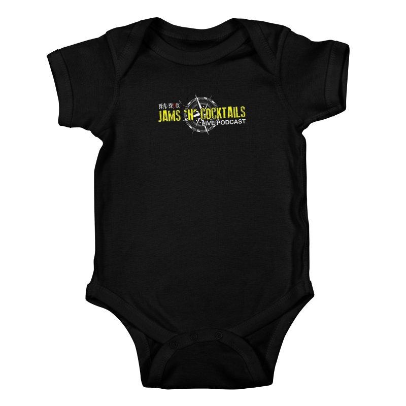 Jams N Cocktails Kids Baby Bodysuit by Brad Brock Official Merch