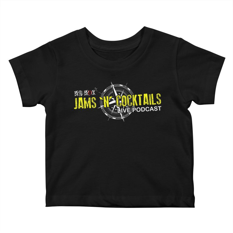 Jams N Cocktails Kids Baby T-Shirt by Brad Brock Official Merch