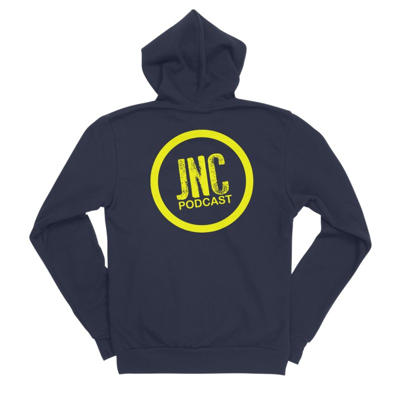 Jams 'N' Cocktails Podcast Men's Zip-Up Hoody by Brad Brock Official Merch